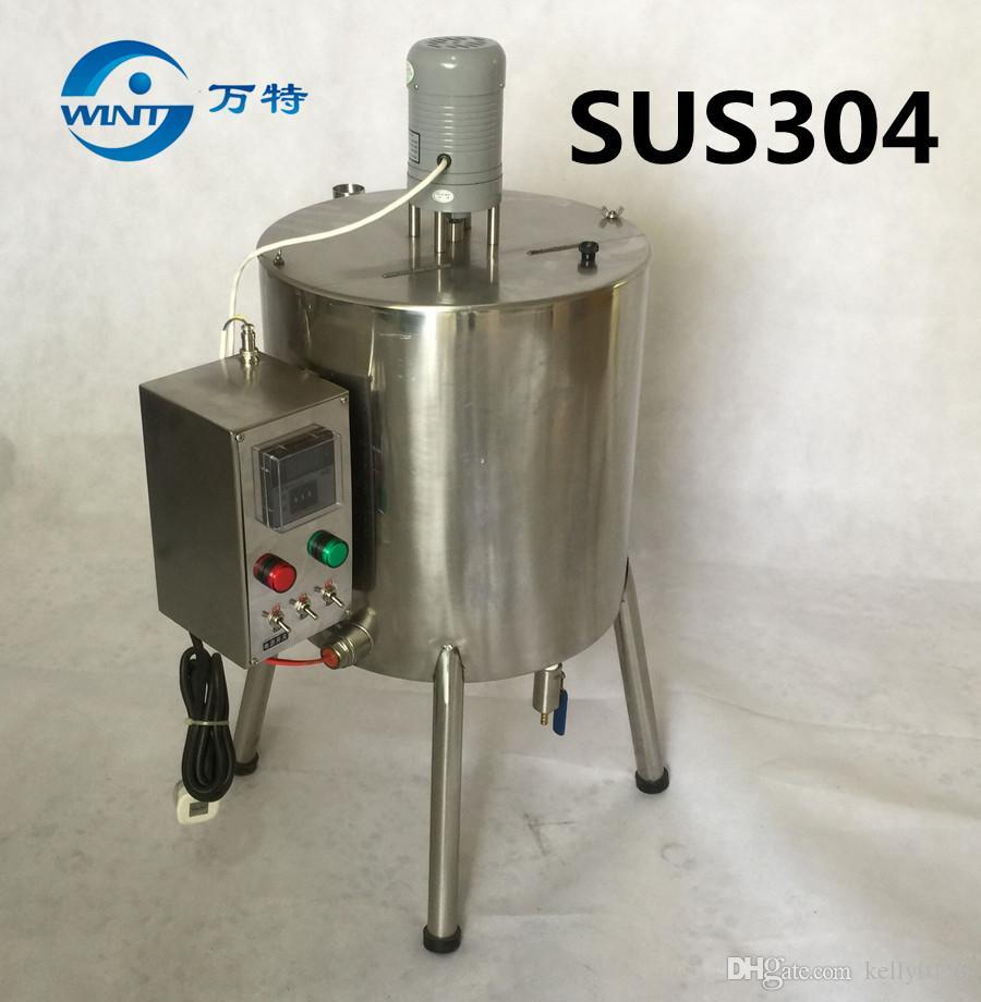 15L Çift Ceket Karıştırma Tankı ile Isıtma Ruj 15 litre ruj ısıtma Karıştırma tankı