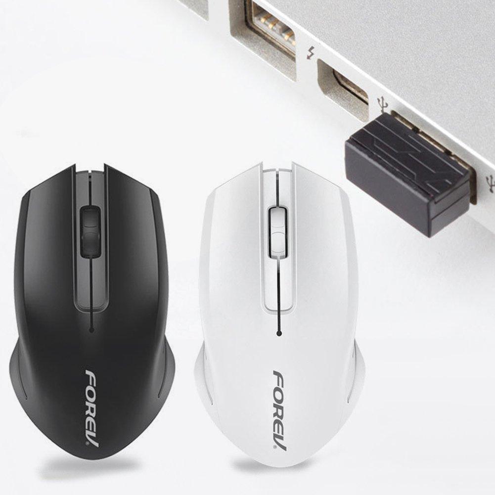 2.4 غيغاهرتز 3 زر 1000 ديسيبل متوحد الخواص ماوس الألعاب اللاسلكية USB للكمبيوتر المحمول الكمبيوتر