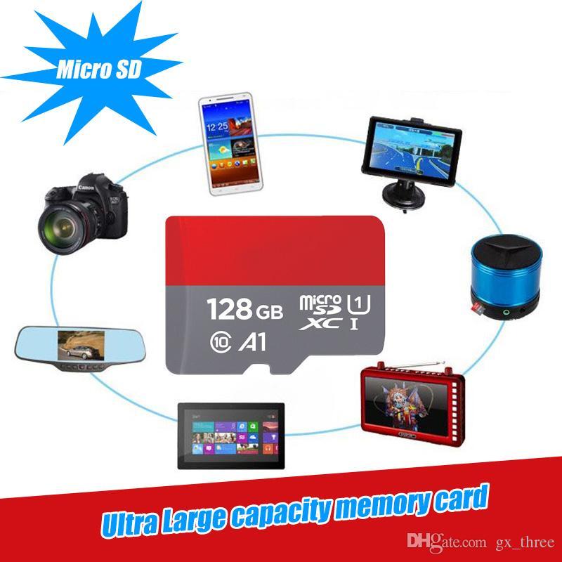Evrensel Mikro SD Micro sd kart Class10 Ultra SDHC SDXC 16 GB 32 gb 64 gb 128 GB 100 Mb / s Orijinal UHS-I Class10 Mobil flash hafıza kartı