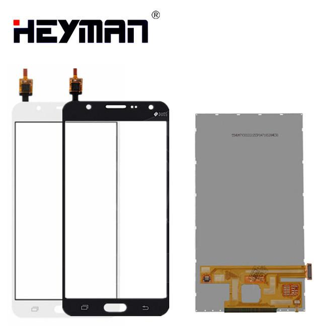 LCD with Touchscreen for Samsung Galaxy J7 J7008 SM-J7008 LTE LCD display screen Digitizer Glass Panel Front Replacement parts