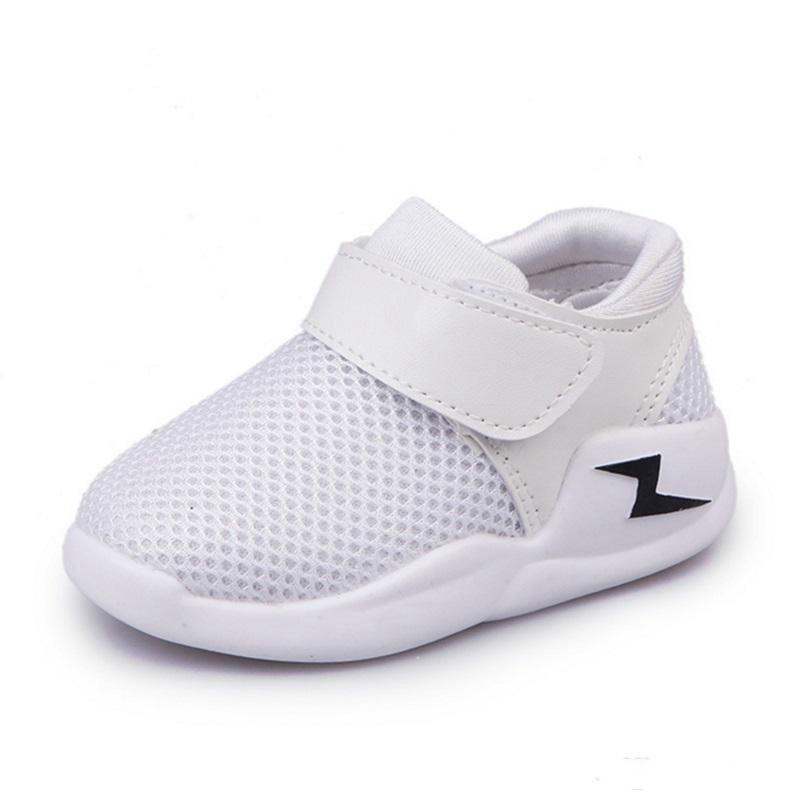 Mesh Children Sport Shoes Breathable Kids Boys Girls Sneakers Baby Toddler Shoes
