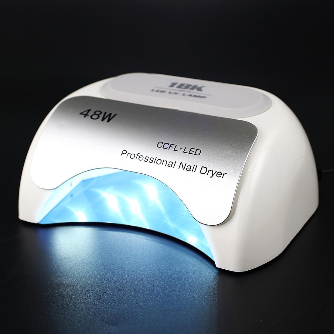 모든 젤 폴란드어 건조기에 대 한 48W 높은 전원 전문 UV 램프 젤 Led 네일 램프 네일 아트 매니큐어 도구 모든 네일 젤 P 치료에 대 한