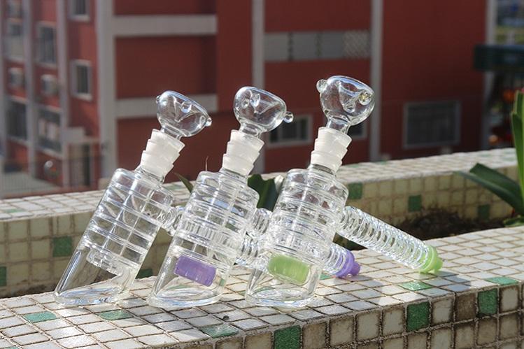 Завод Цена Красочных стекол Молоток для курения стекла водопроводной трубы 19мм Joint Размер стекло Молота Dab Солома Для Oil Rig мензурки затяжек