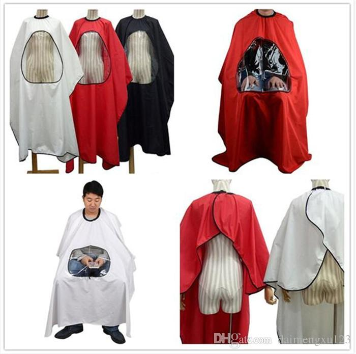 100pcs 4 colors Professional Salon Barber cape Hairdresser Hair Cutting Gown cape Waterproof Cloth for barber Apron X101