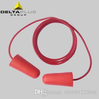 High Performance PU Wire Earplugs Study Sleepping Corded Disposable Earplugs Working Hearing Protection Anti-noise Earplugs SNR37dB 200pairs