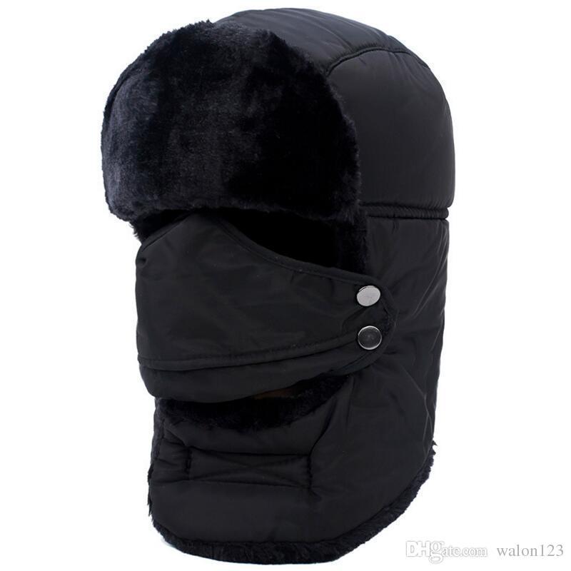Máscara de inverno Ao Ar Livre Térmico Quente Cap Balaclava Chapéus de Esqui Boné de Lã de Esqui Da Bicicleta Cachecol Rolha de Vento Máscara de Esqui Chapéus Bonés Frete Grátis