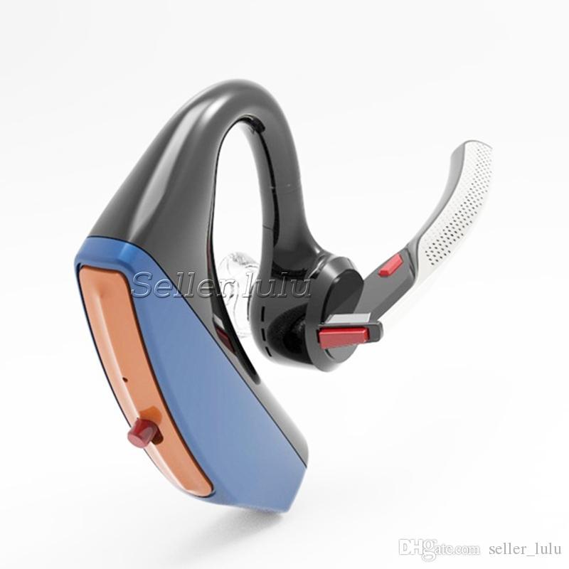 V15 negócio fone de ouvido bluetooth handsfree escritório sem fio bluetooth fones de ouvido fones de ouvido com microfone de controle de voz com cancelamento de ruído
