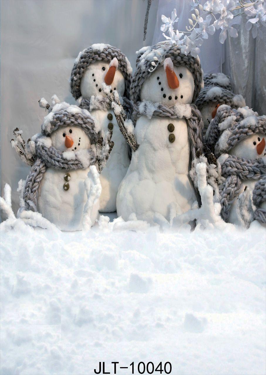 bonhomme de neige hiver photo fond enfant blanc fond noël gelé fond d'anniversaire pour le studio photo pour la fête photophone