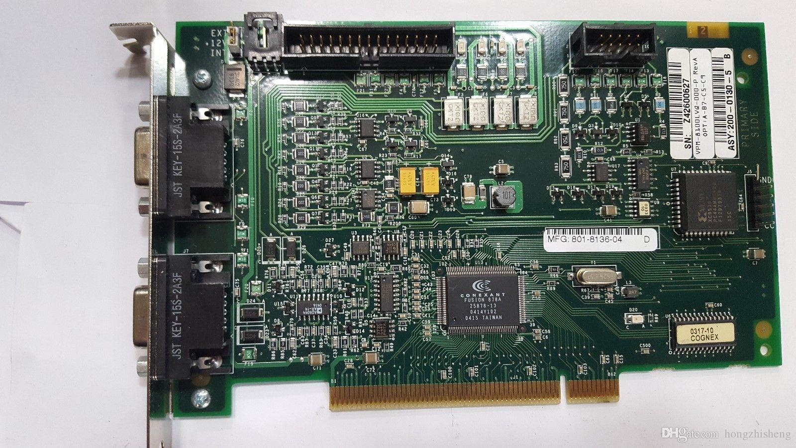 Плата Cognex Vision VPM-8100LVQ-000-P REV A (R6S2.7B3)