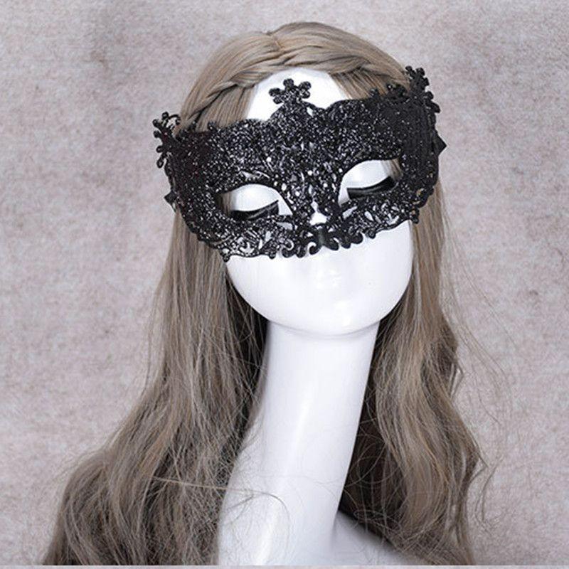 New Hollow Little Fairy Gold Mask Venetian Masquerade Show Masks Wedding Photography Supplies