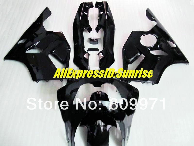 Black Glossy INJECTION Fairing Bodywork Plastic Set Kawasaki ZX-6R 05-06 39 B3