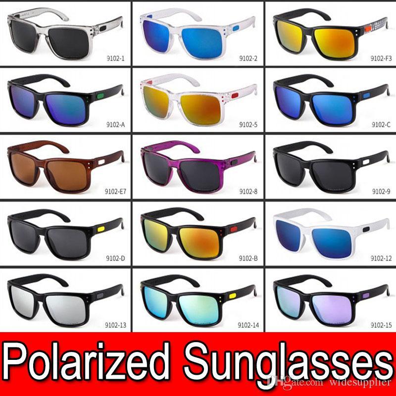 Designer Popular óculos polarizados para Homens e óculos de sol Sombra Mulheres exterior Desporto Ciclismo Conduzir Sun óculos de sol para o verão