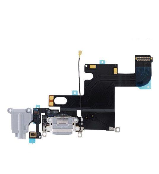 Liman Kulaklık Ses Jak Mikrofon Flex Kablo Şerit iPhone 6 6s Şarj USB Dock Bağlantı Şarj 4.7inch 6P 6S Artı 5.5inch