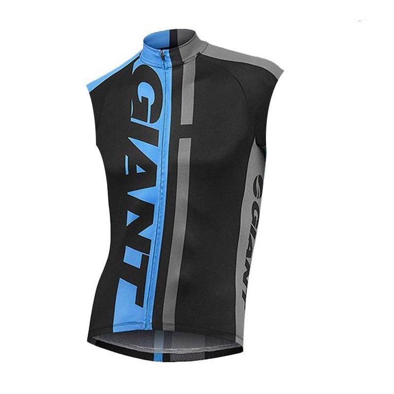 GIANT squadra ciclismo maglia senza maniche maglia estate uomini Pro abbigliamento da bicicletta Wear Confortevole Breathablean Quick-dry U62150