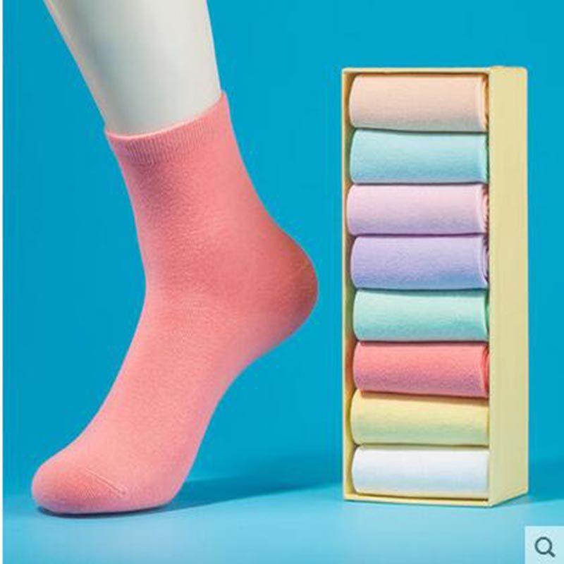 Cotton socks Ladies and children summer socks thin deodorant socks-8pairs