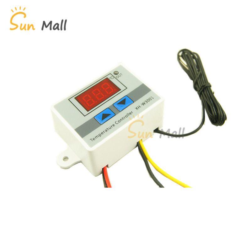 XH-W3001 10A Digital Controlador de Temperatura 12 V, 24 V, 220 V Qualidade regulador termopar Termostato termostato com display LCD