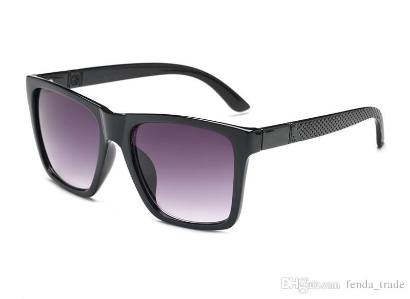 7 ألوان الساخنة الفاخرة 2247 نظارات شمسية للرجال تصميم الأزياء مربع إطار نظارات طلاء مرآة عدسة ألياف الكربون الصيف النساء