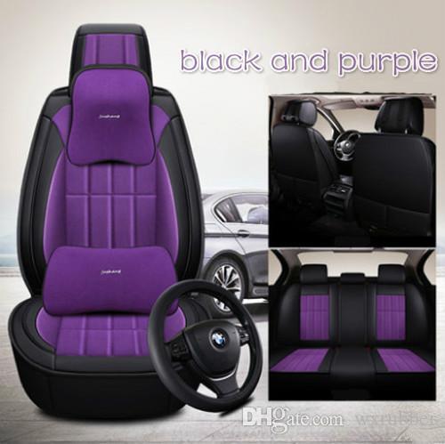 Lato All Clusive Car Mat Four Season Flax Cloth Art Samochód Wnętrze Akcesoria Pełna Ustaw Siedzenia samochodowe