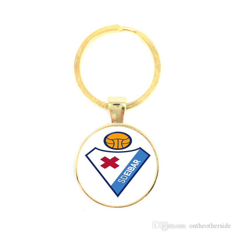 Trendy Ball Fans Football Keychain Car Key Chain Keyrings Holder Football Team Fans Small Gifts Sports Commemorative Gifts