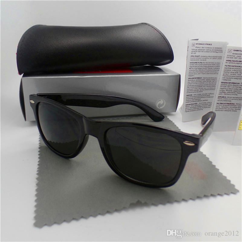 고품질 브랜드 디자이너 패션 남자 선글라스 자외선 보호 야외 스포츠 빈티지 여성 선글라스 복고풍 아이웨어 박스 및 케이스