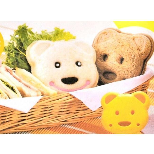 1pcs Cute DIY Bear Sandwich Mold Toast Bread Stamp Mold Cutter Tool Kit