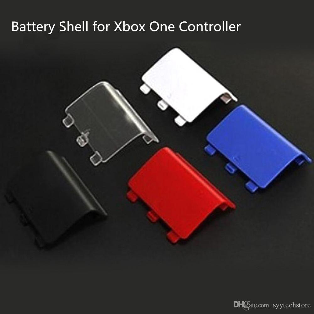 Free shipping Battery Door Shell Cover Case Cap replacement for Xbox One Wireless Controller Repair parts