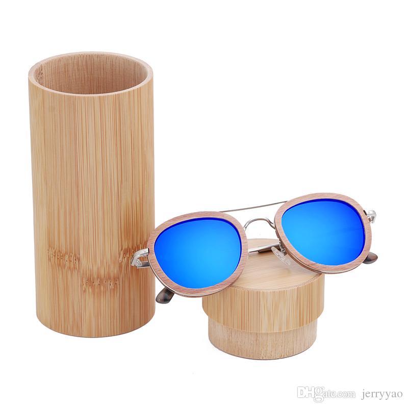 New 100% Real ebony Wood Sunglasses Polarized Handmade wooden Sunglasses Men Gafas Oculos De Sol oculos de sol feminino Dropshipping