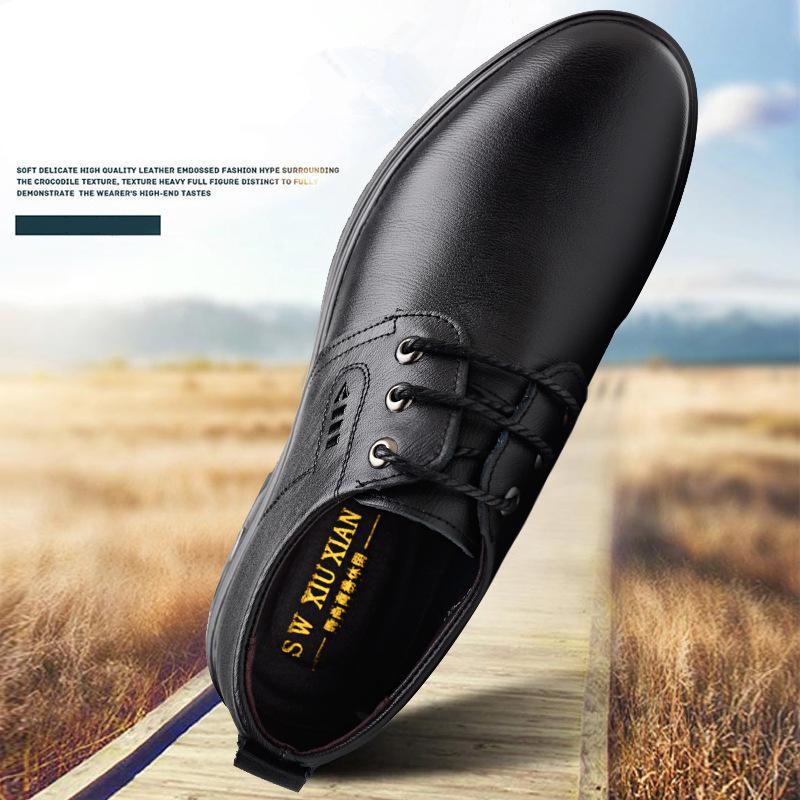 Erkekler için oxford ayakkabı hakiki deri ayakkabı erkekler resmi erkek ayakkabı resmi shoes homme kısa peluş zapatos hombre vestir buty meskie