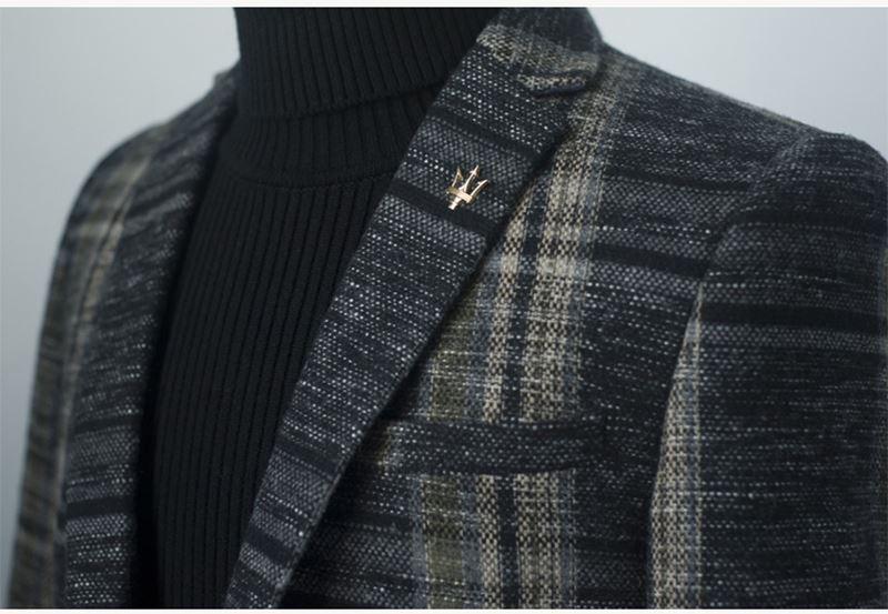 Mens Designer Blazers Jacket Suit (7)