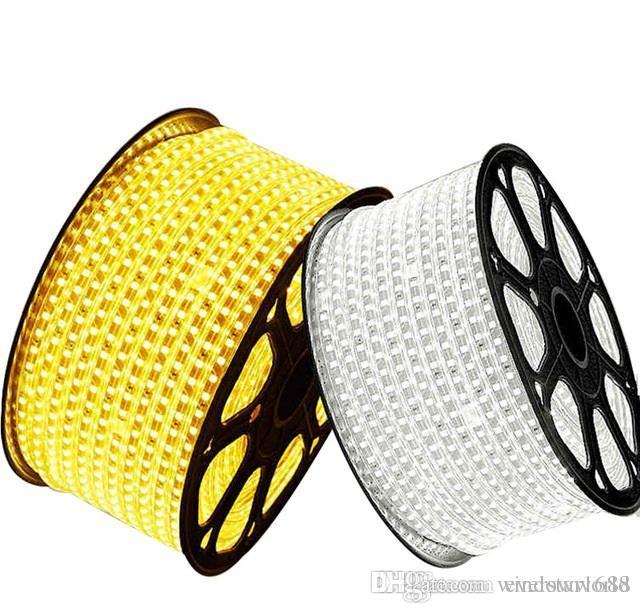 Flexible LED Strip Light Tape Rope 1-20m SMD 5050 Outdoor Waterproof 110V//220V