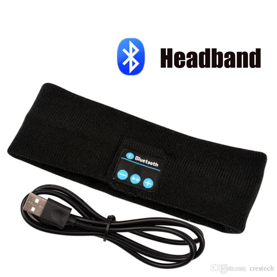 """Stereo Bluetooth 3.0 outdoor sleeping Headband Sports Head Band, 2015 fashionable hands-free bluetooth band with headphone speakers """