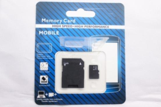 New hot Sale 256GB 128GB 64GB 32GB Micro TF card With Adapter Blister Generic Retail Package