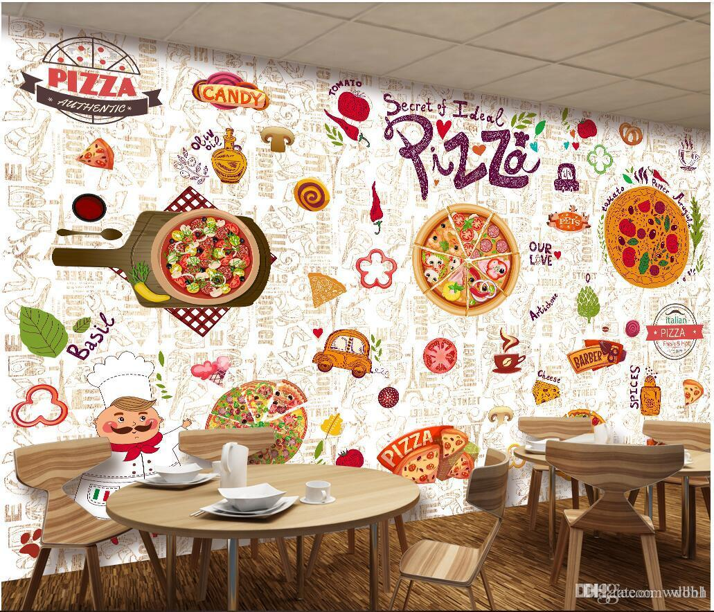 Compre Papel Tapiz 3d Foto Personalizada Restaurante Occidental