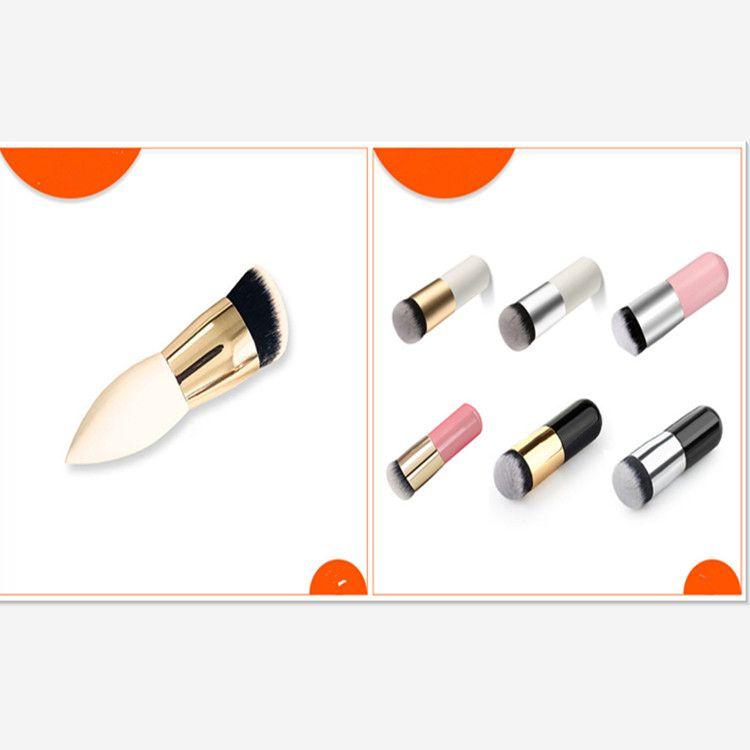 10 CM Fondation brosse Poudre brosse professionnelle de haute qualité liquide plat brosses pour le maquillage du visage mis outils beauté essentiel
