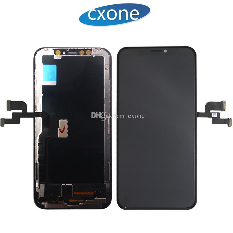 La nuovissima qualità più alta per la sostituzione del touch screen per LCD Digitizer per iPhone X con un buon 3D Touch Spedizione gratuita