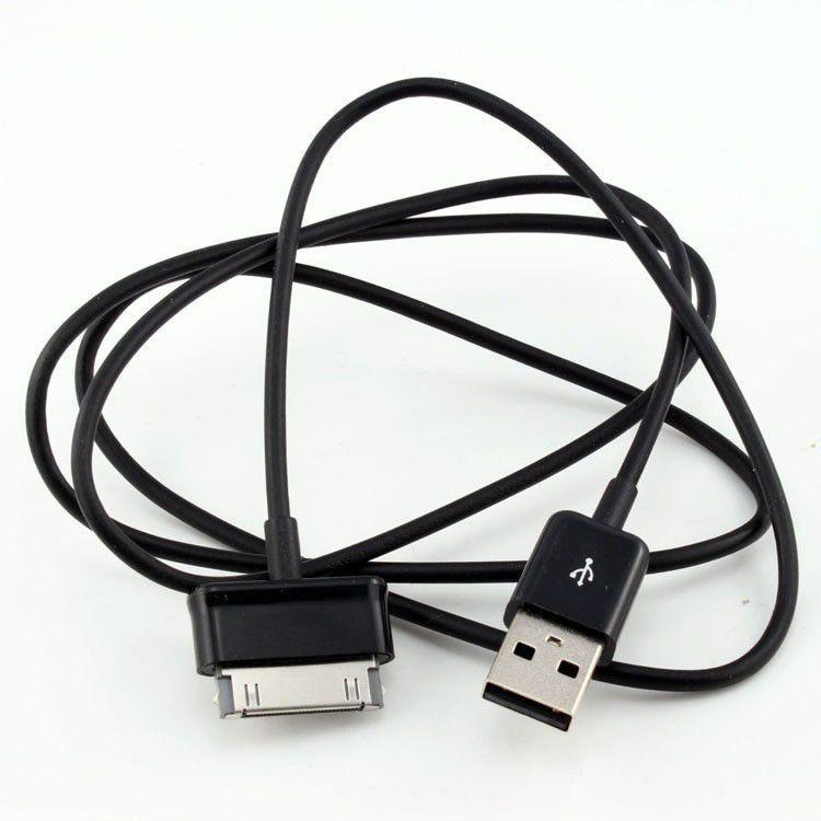 삼성 갤럭시 탭 10.1의 경우 케이블 데이터 라인을 충전 1M 3 피트 충전기 동기화 USB 데이터