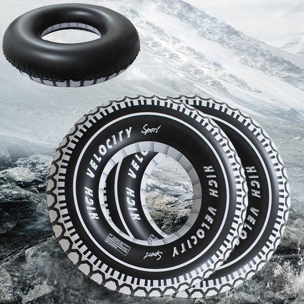 Tyre Rubber Ring Float Giant Inflatable Swimming Pool 47 Inches Adults /& Kids