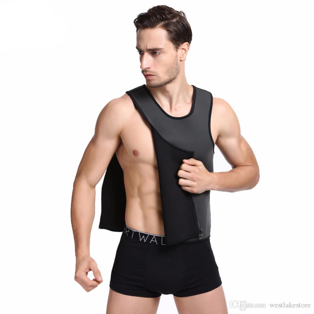 Minceur Gilet Néoprène Shaper Hommes Minceur Ceinture Body Shaper Corset Posture Taille Entraîneur Entraîneur Corsets Sportes Hot Shapers