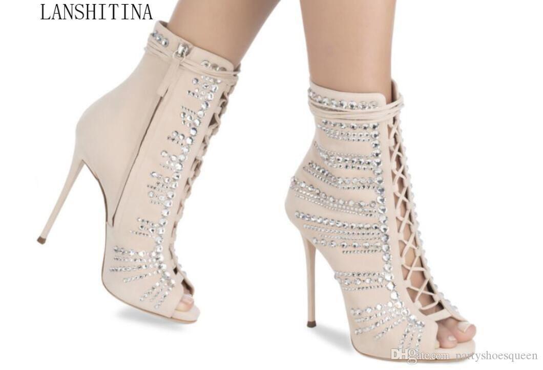 2018 New Women Summer Ankle Boots Party