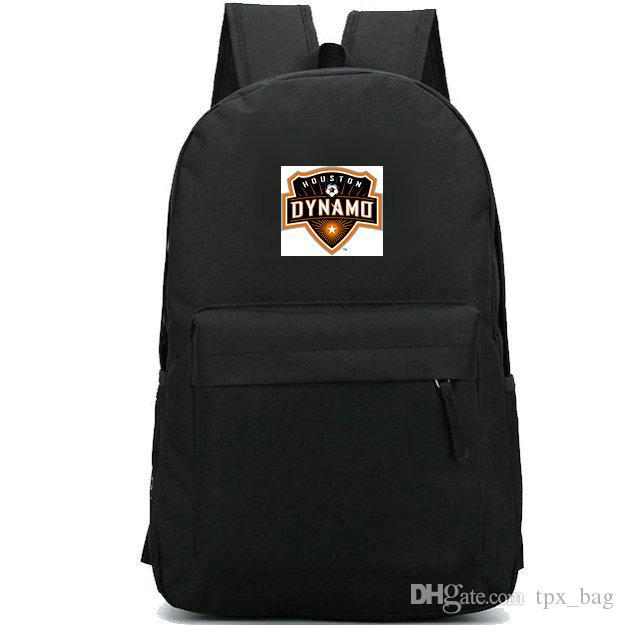 Dynamo mochila Houston daypack BBVA Compass Stadium clube de futebol mochila Futebol crachá mochila mochila Esporte bloco do dia ao ar livre