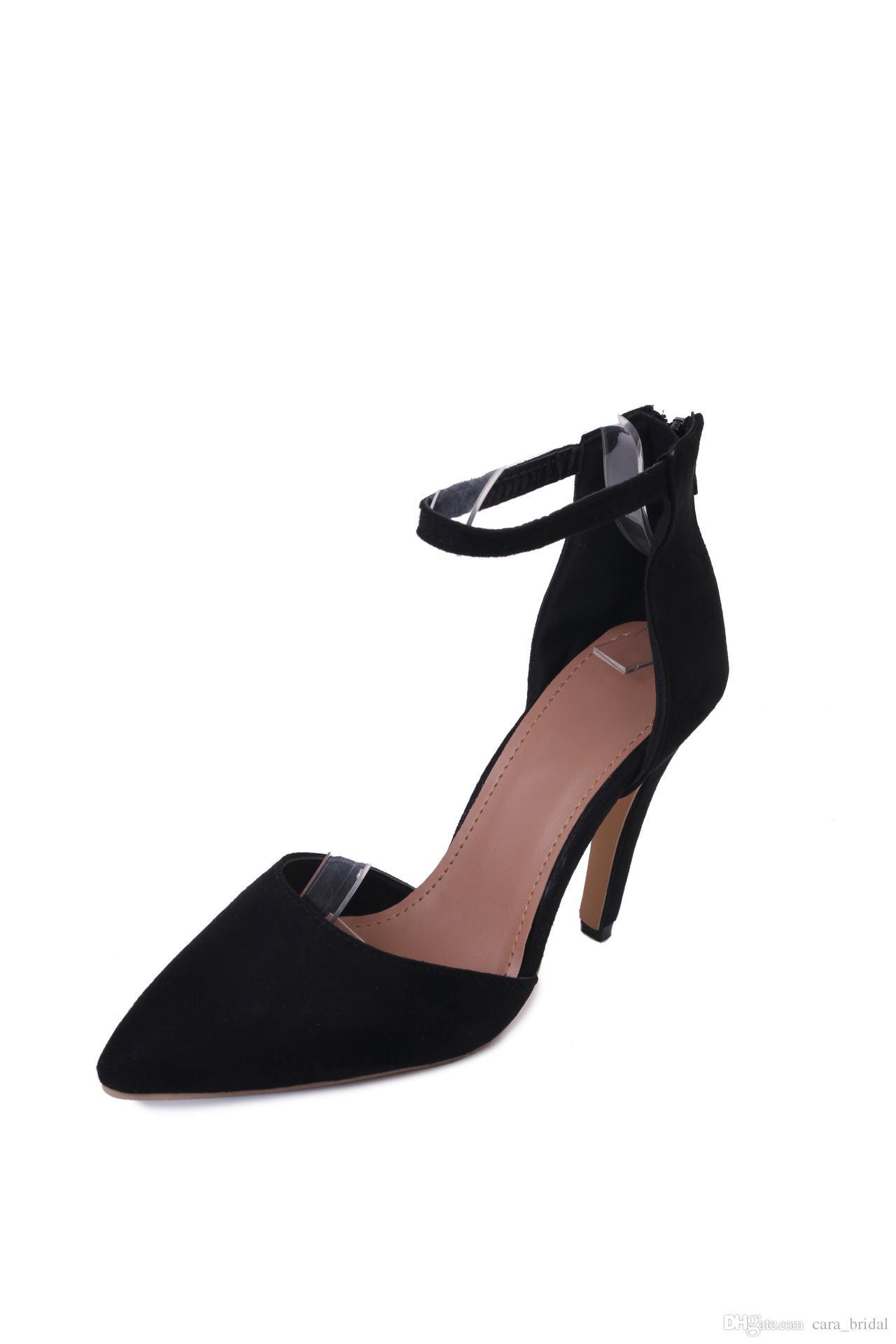 360c7b1d6 ... Classic Black Velvet High Heels Women Pumps,Luxury Red Bottom Pointy  Toes Dress Wedding Shoes ...