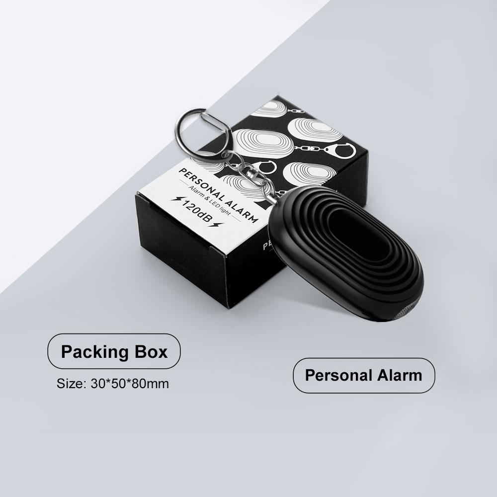 Mini self defense personal alarm keychain emergency panic alarm wolf ...
