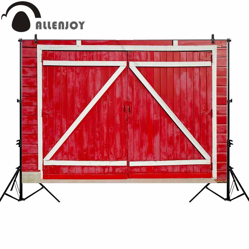 photographie en gros toile de fond rouge grange bois portrait porte ferme fond photocall photoshoot prop studio personnalisé photobooth