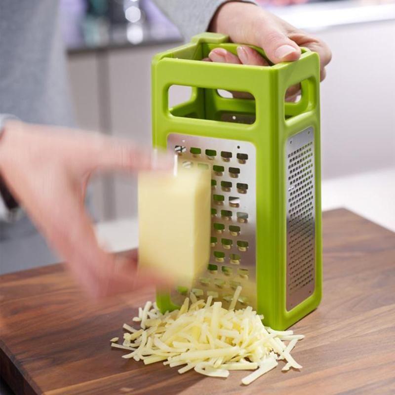 New Foldable Stereo On All Sides-planing Super Fruit Vegetable Grater Slicer Peeler Dicer Cutter Food Chop Kitchen Tool