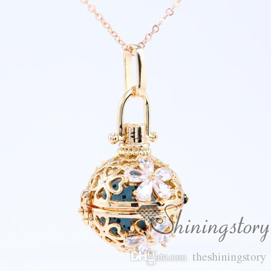 cz cubic zircon essential oil necklace charm necklace locket necklace heart locket cheap lockets for sale love locket online shopping