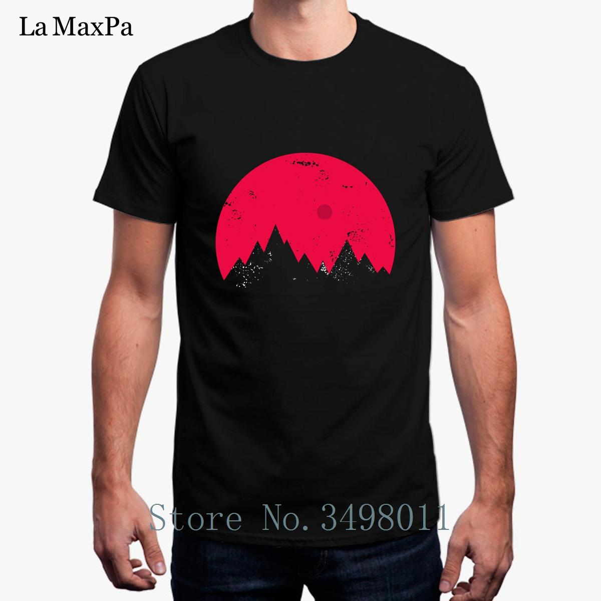 High Quality Sunset Of The Mind T-Shirt Streetwear Mens T Shirt Cotton Simple Cool Mens Tee Shirt Short Sleeved Size S-3xl
