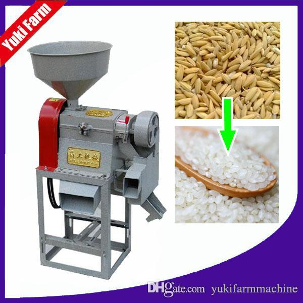 uso Mini Rice Mill Máquina Rice Mill Machinery Preço Household Pequena Escala Arroz Milling Machine Farm