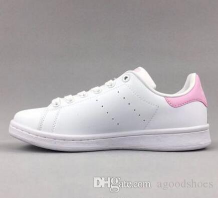 Grande taille EUR44 Mode Hommes Chaussures décontractées Superstar smith stan Femme Chaussures plates Femmes Zapatillas Deportivas Mujer Amoureux Sapatos Femininos