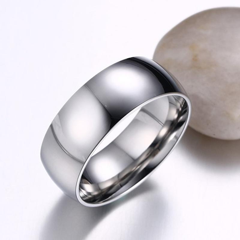 CAR2 925 silver Glossy face women ring have USA size 6 7 8 9 for women and man silver jewelry gift Y18102610