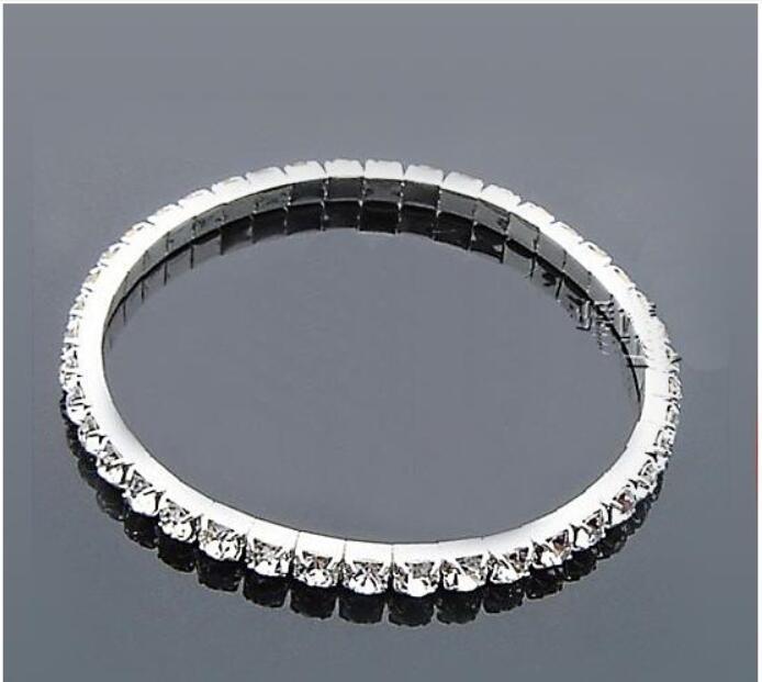 Joyería nupcial Perlas Pulseras nupcial Accesorios de boda Pulsera de plata